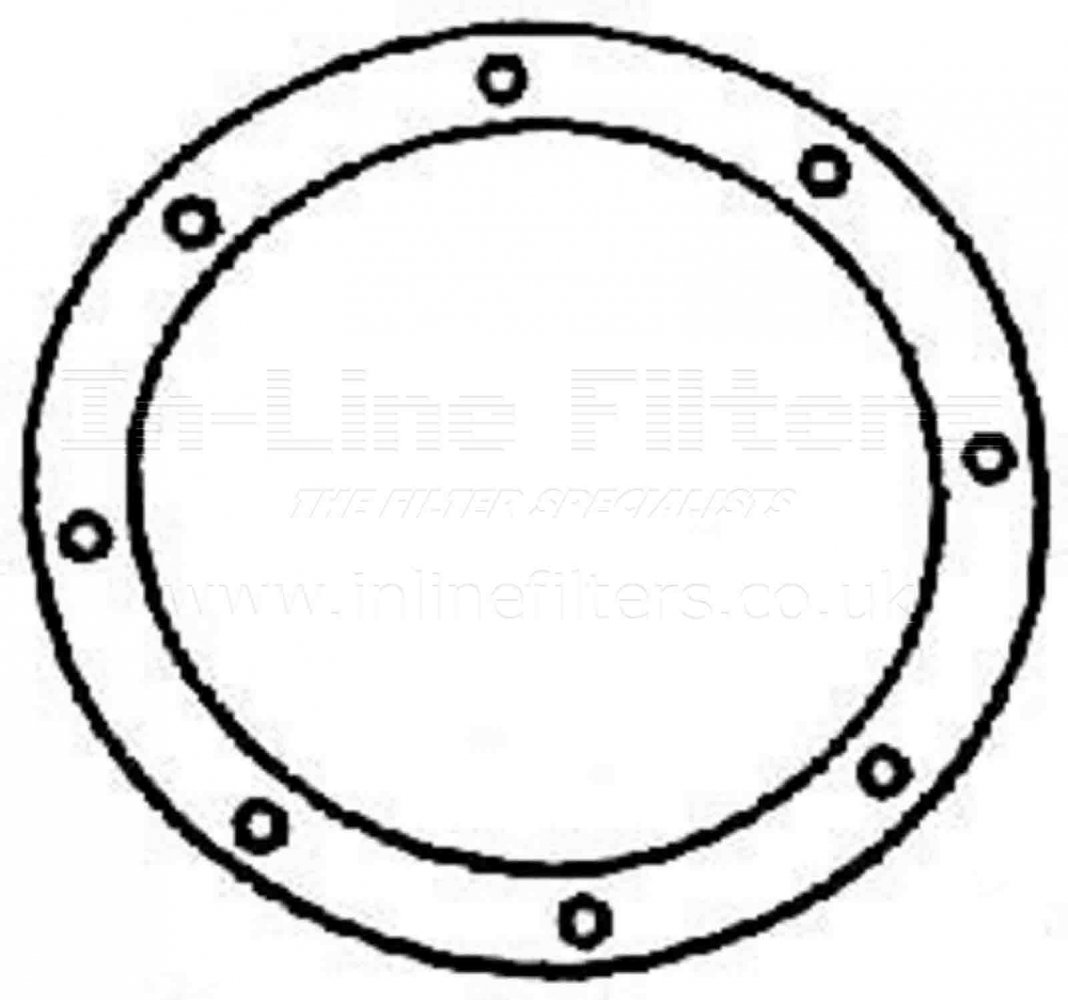 FBW-G304 FILTER-Gasket(Brand Specific-Baldwin G304) - Click Image to Close