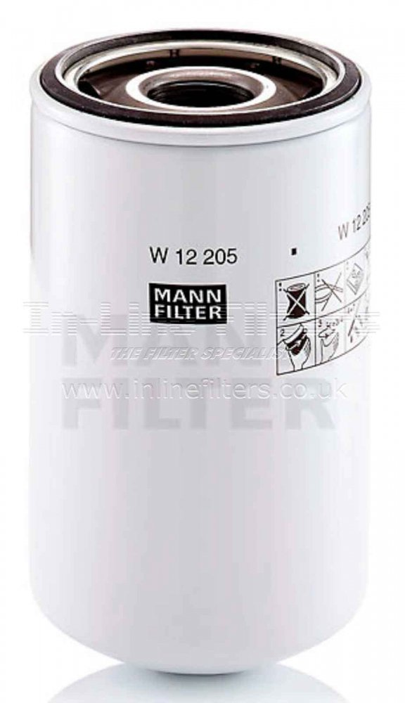 FMH-W12205 FILTER-Lube(Brand Specific-Mann W12205) - Click Image to Close