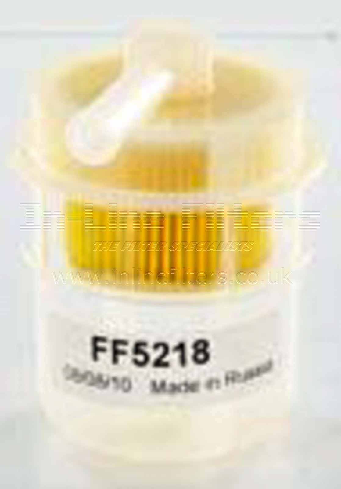 FFG-FF5218 FILTER-Fuel(Brand Specific-Fleetguard FF5218) - Click Image to Close