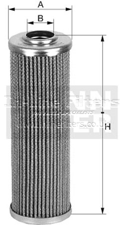 FIN-FH50554 FILTER-Hyd(Mann HD45/5, Baldwin PT9462) - Click Image to Close
