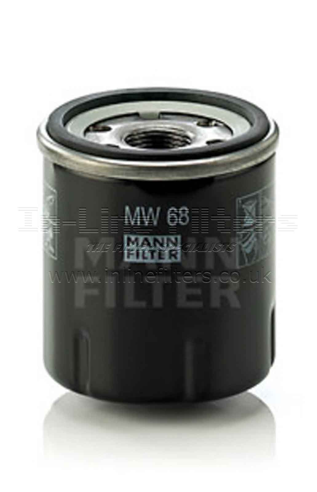 FMH-MW68 FILTER-Lube(Brand Specific-Mann MW68) - Click Image to Close