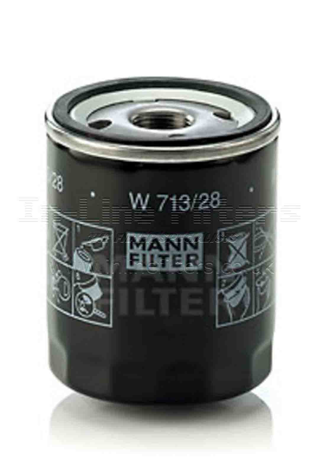 FMH-W713-28 FILTER-Lube(Mann W713/28) - Click Image to Close
