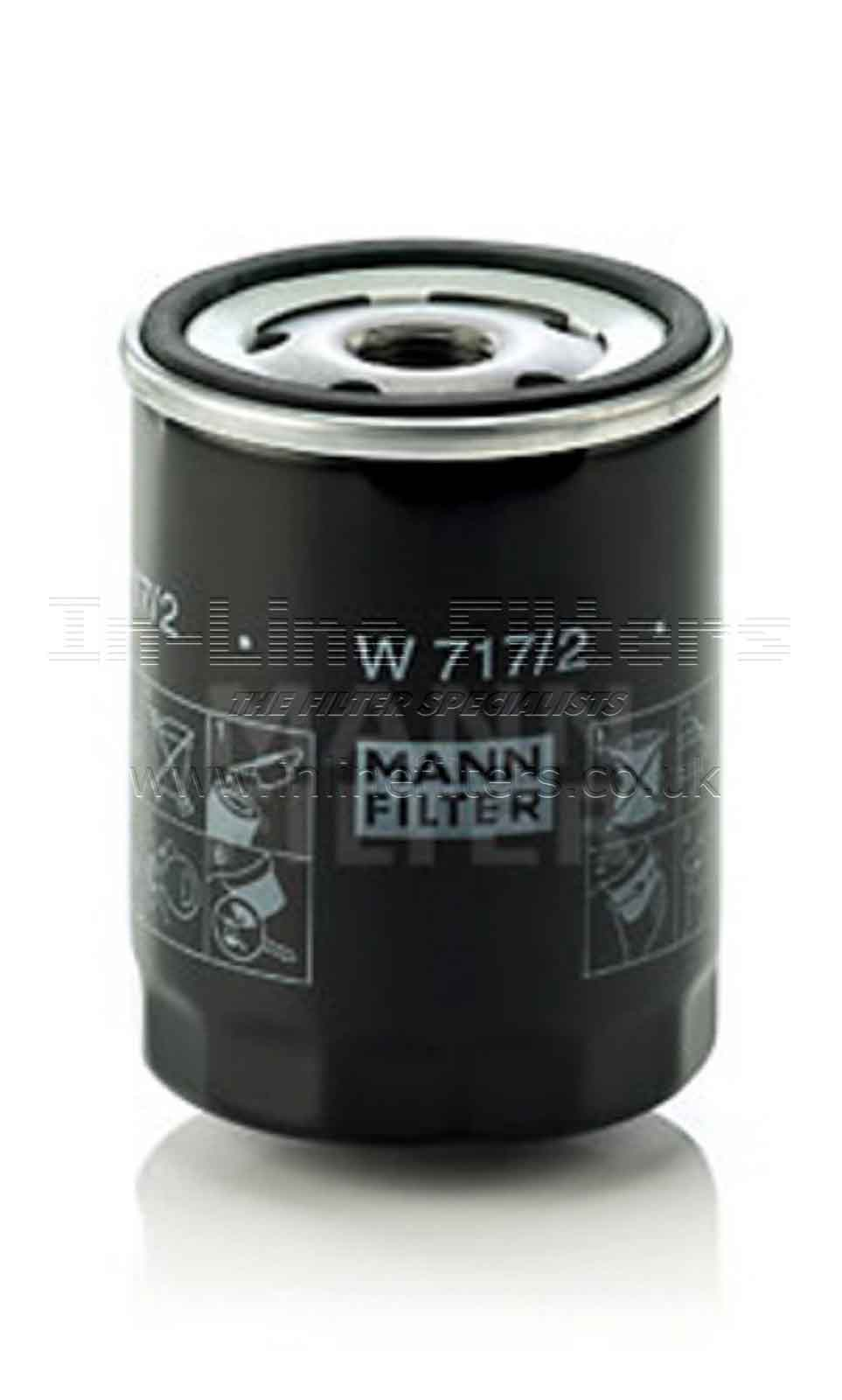 FMH-W717-2 FILTER-Lube(Brand Specific-Mann W717/2) - Click Image to Close