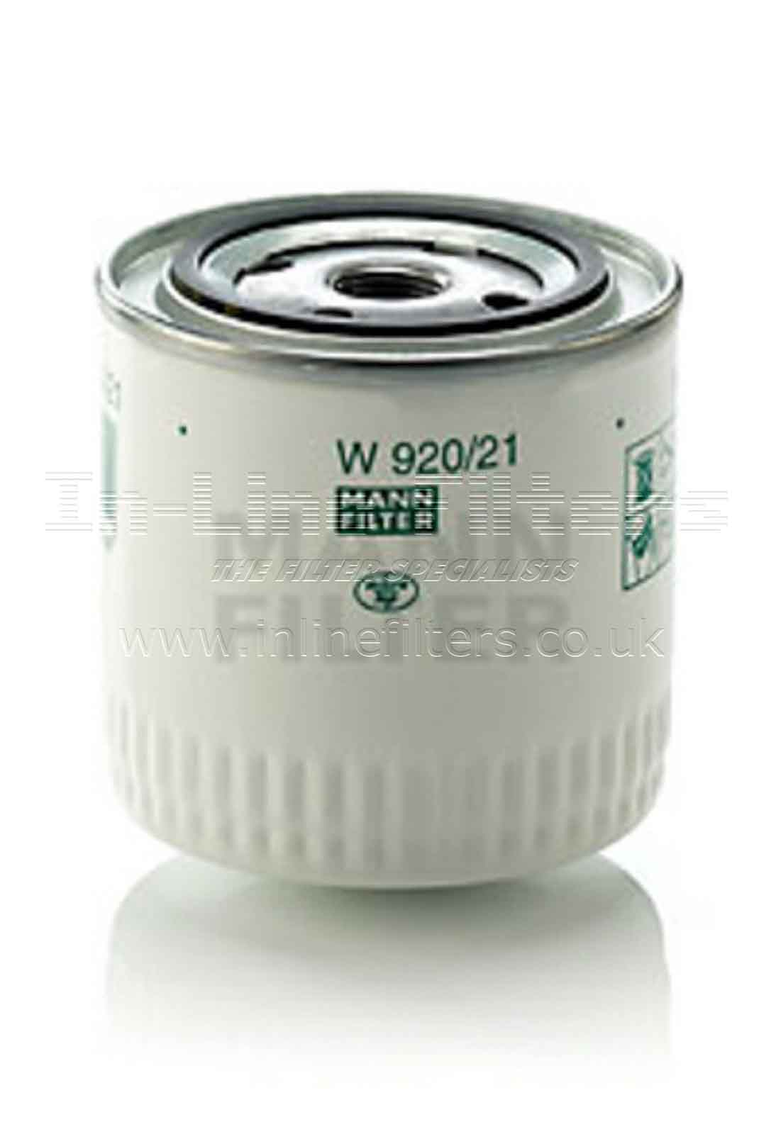 FMH-W920-21 FILTER-Lube(Brand Specific-Mann W920/21) - Click Image to Close