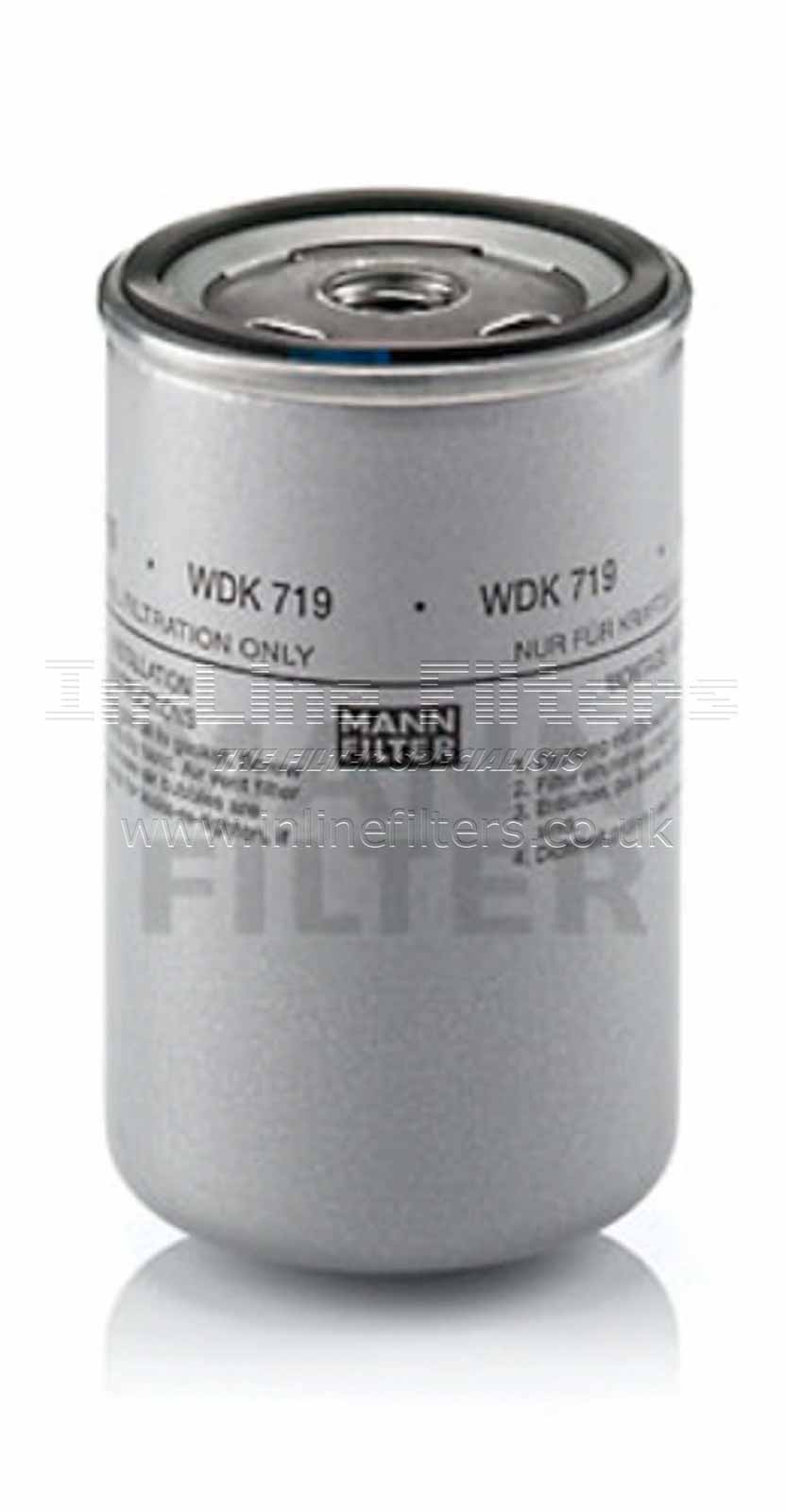 FMH-WDK719 FILTER-Fuel(Brand Specific-Mann WDK719) - Click Image to Close