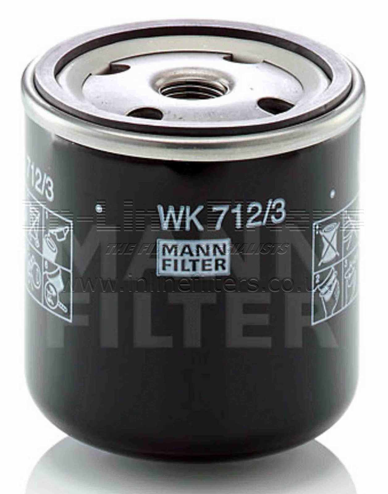 FMH-WK712-3 FILTER-Fuel(Mann WK712/3) - Click Image to Close