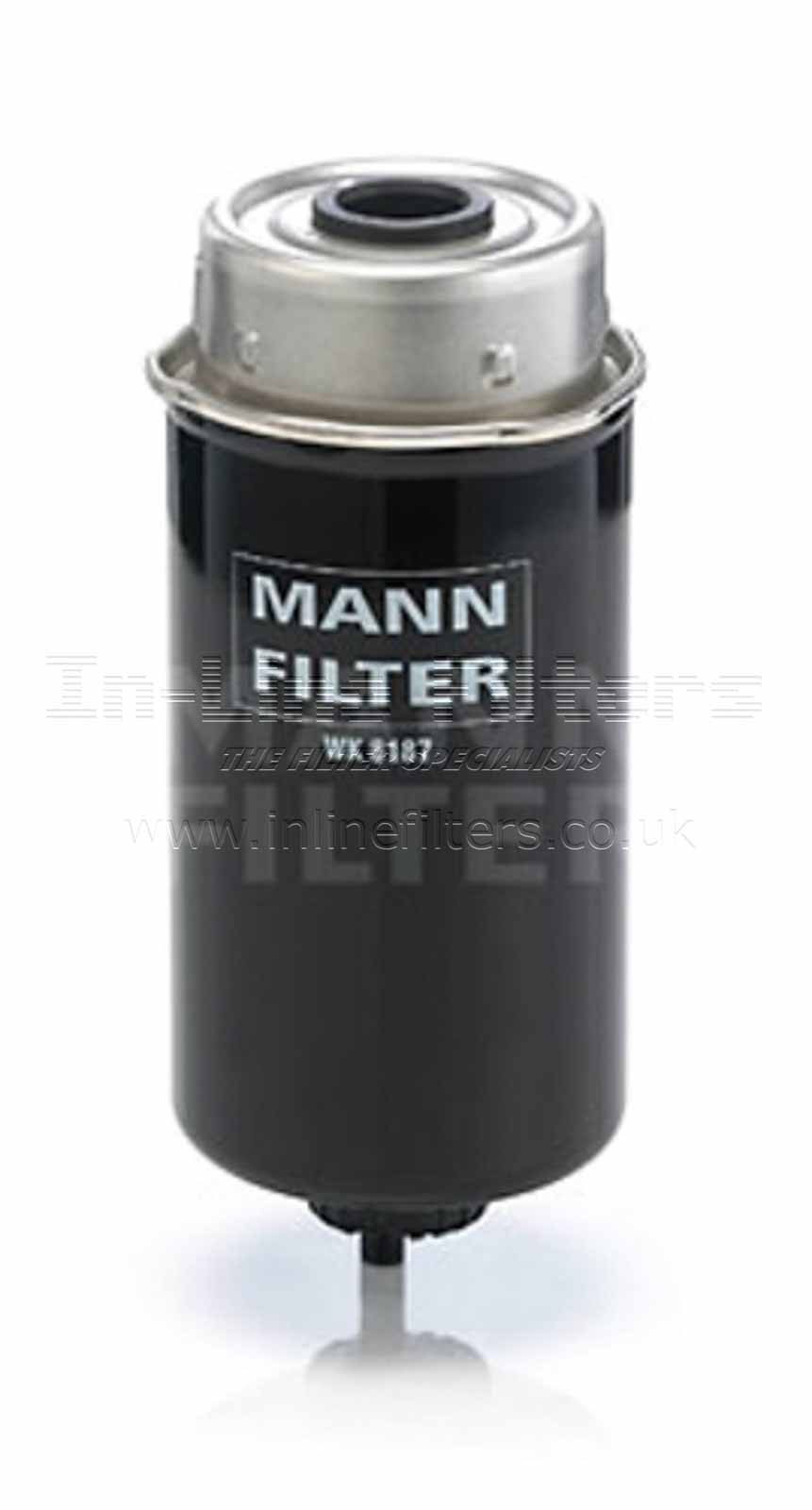 FMH-WK8187 FILTER-Fuel(Brand Specific-Mann WK8187) - Click Image to Close